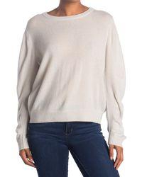 Line Amber Cashmere Sweater - White
