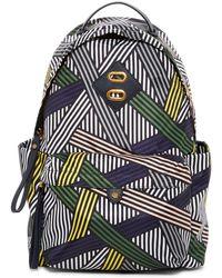 Anne Klein Jane Medium Nylon Backpack - Black