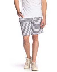 Rip Curl - Striped Knit Shorts - Lyst