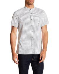 Kenneth Cole - Bowling Short Sleeve Regular Fit Shirt - Lyst