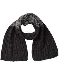 Bickley + Mitchell Chunky Knit Scarf - Black