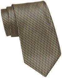 Nautica Carlton Silk Blend Tie - Yellow