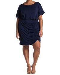 West Kei Knit Mini Dress - Blue