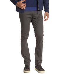 Theory Raffi Duston Twill Pants - Gray