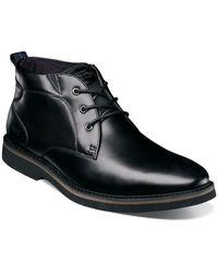 Nunn Bush Denali Waterproof Plain Toe Boot - Black