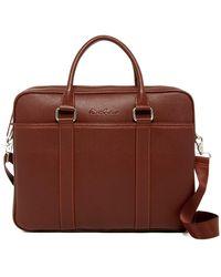 Robert Graham Muines Briefcase - Brown