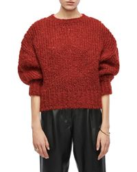 Anine Bing Greyson Sweater - Red