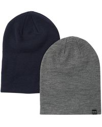 Bickley + Mitchell Knit Beanie - Pack Of 2 - Gray