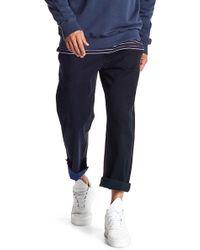 Barney Cools - Chodus Multicolor Frayed Hem Boxy Fit Chino Pants - Lyst