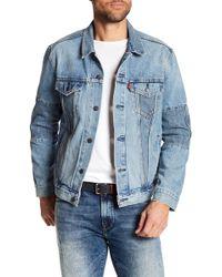 Levi's - Altered Piece Good Trucker Denim Jacket - Lyst
