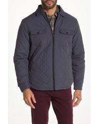 Wallin & Bros. Quilted Patch Pocket Jacket - Blue