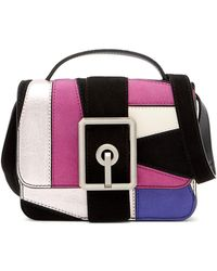 Rebecca Minkoff - Hook Up Top Handle Small Leather Crossbody Bag - Lyst