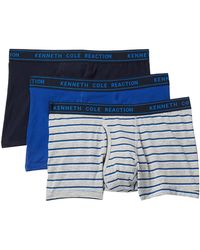 Kenneth Cole Reaction - Fashion Trunks - Pack Of 3 - Lyst