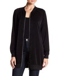 West Kei - Long Bomber Jacket - Lyst