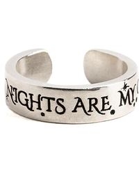 ALEX AND ANI - Wild Nights Are My Glory Adjustable Ring - Lyst