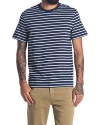 DKNY Feeder Stripe T-shirt - Blue