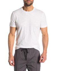 Theory Gaskell Short Sleeve Slub T-shirt - White