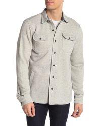 Tailor Vintage Fleece Lined Shirt Jacket - Multicolor