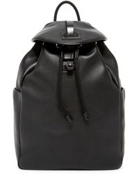 Alexander McQueen - Skull Perforated Leather Backpack - Lyst