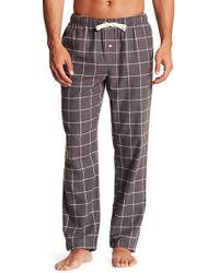 Joe Fresh - Plaid Flannel Pants - Lyst