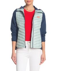 Helly Hansen Verglas Quilted Hooded Jacket - Blue