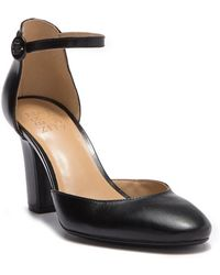 Naturalizer - Gianna Leather D'orsay Ankle Strap Pump - Wide Width Available - Lyst