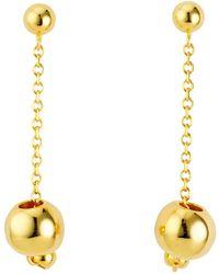 Uno De 50 In Love Earrings - Metallic