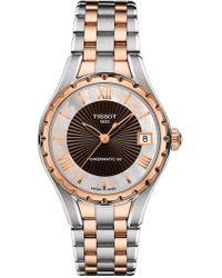 Tissot - Women's Stainless Steel Watch - Lyst
