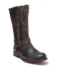 Bed Stu Hustle S Zip & Buckle Boot - Black