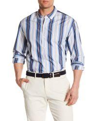 Tommy Bahama - Genova Stripe Print Shirt - Lyst