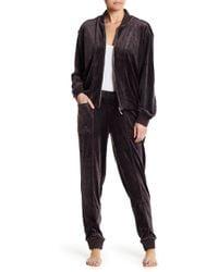 Natori - Luxe Velour Trousers - Lyst