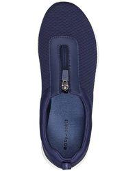 Easy Spirit Laine Zip Slip-on Sneaker - Blue