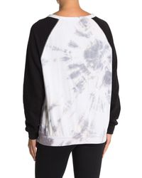 The Laundry Room Raglan Sleeve Cozy Pullover - White