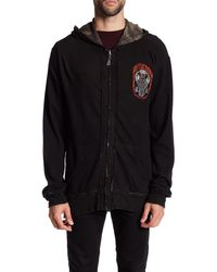 Affliction - Death Coil Reversible Zip Thermal Hoodie - Lyst
