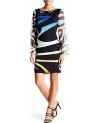 Analili - Ombre Printed Dress - Lyst