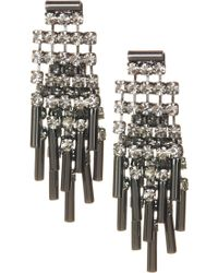 ABS By Allen Schwartz - Epoxy Stone Bar Earrings - Lyst