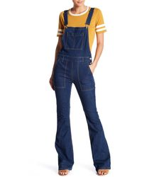 ei8ht dreams - Flare Denim Overall - Lyst