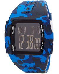 adidas Originals Men's Duramo Blue Camo Watch