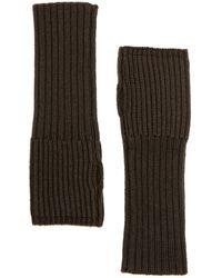 The Kooples - Wool Knit Gloves - Lyst