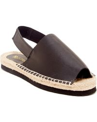 Restricted - Aim High Slingback Espadrille - Lyst