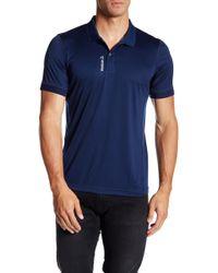 Reebok Workout Polo Shirt - Blue