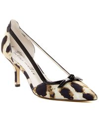 Bettye By Bettye Muller - Amici Printed Cutout Pump - Lyst