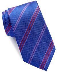 Bugatchi - Striped Silk Tie - Lyst
