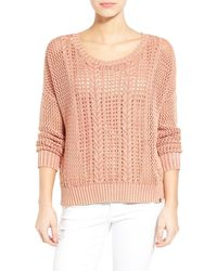 Volcom - Restless Ties Cotton Pullover - Lyst
