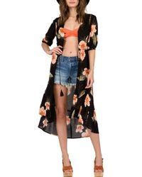 Volcom - Not Over It Print Duster - Lyst