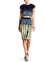 Wow Couture - 2-piece Knit Crop Top & Skirt Set - Lyst
