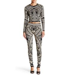 Wow Couture - Printed Legging - Lyst
