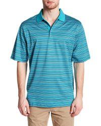 Bugatchi - Knit Short Sleeve Trim Fit Shirt - Lyst