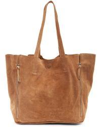 Raj - Myla Genuine Leather Zip Tote - Lyst