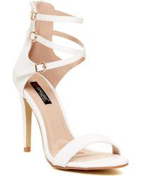 Elegant Footwear - Bibi Buckle Strap Sandal - Lyst